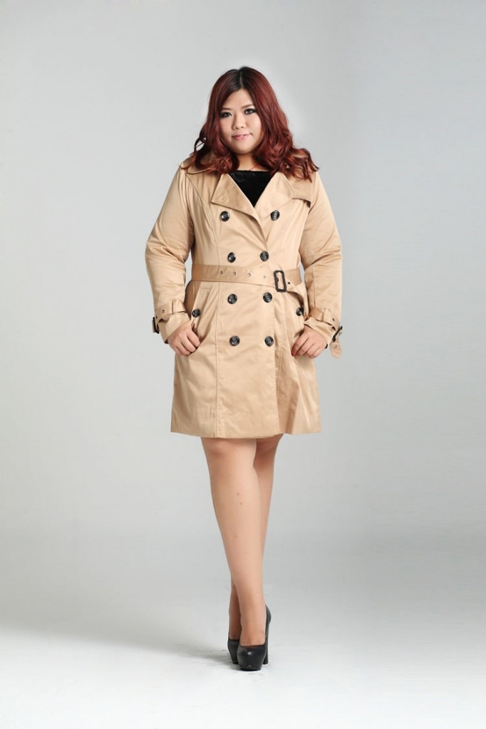 Military Style Trench Coat SL0118