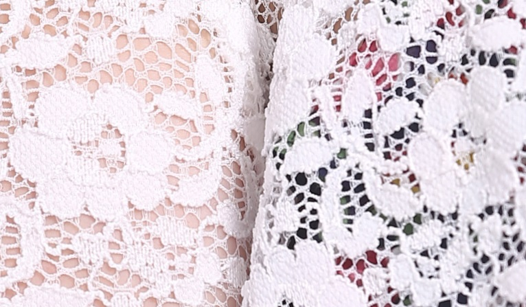 Open-Front Cropped Lace Cardigan
