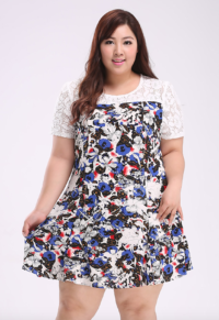 c479f10d1a7 Plus Size Long Sleeve Hooded Dress With Denim Jacket (Set ...