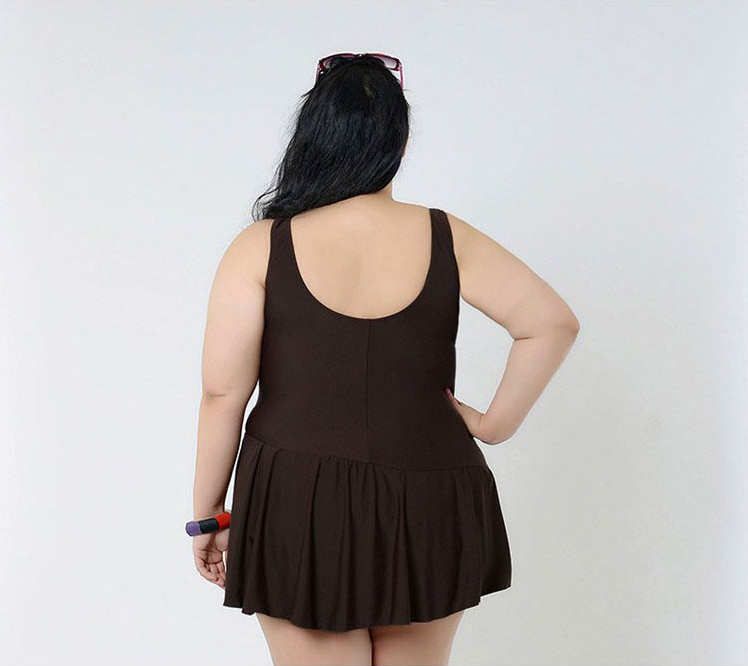 Plus Size Wrap Swimdress