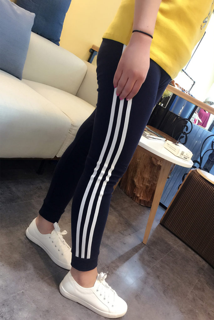 Plus Size Cotton Sporty Stretch Pant