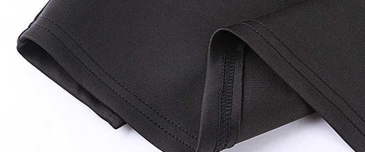 Plus Size High-Waist Side Split Pencil Skirt