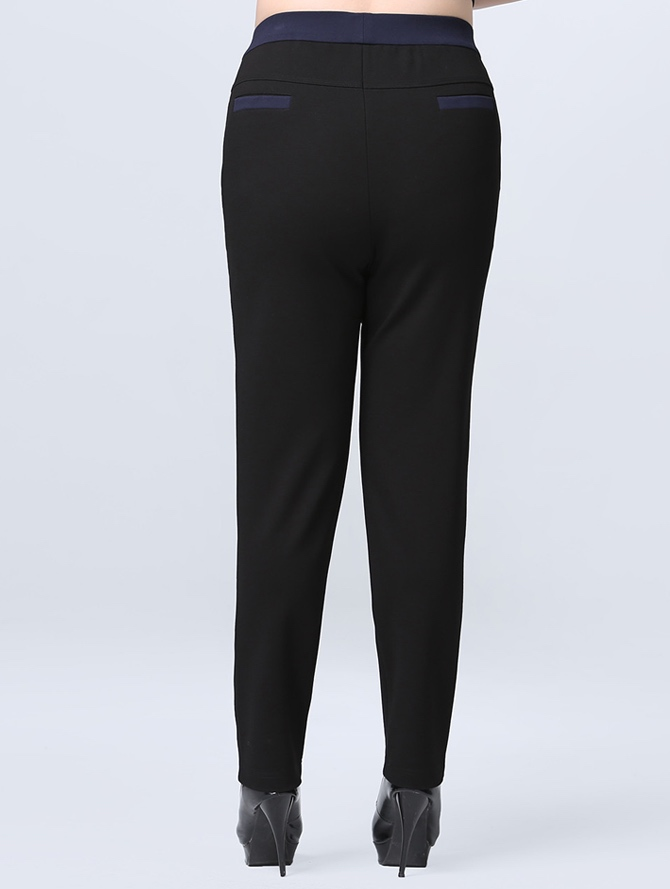 Plus Size High Waist Stretchy Pant (Bigger Cutting)