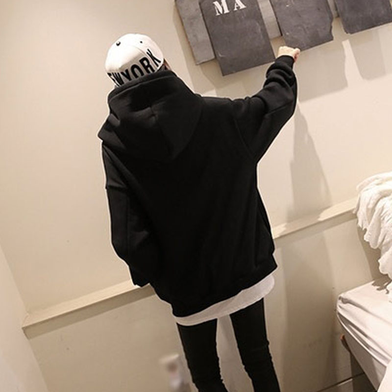 Oversized Bomber Jacket With Hoodie