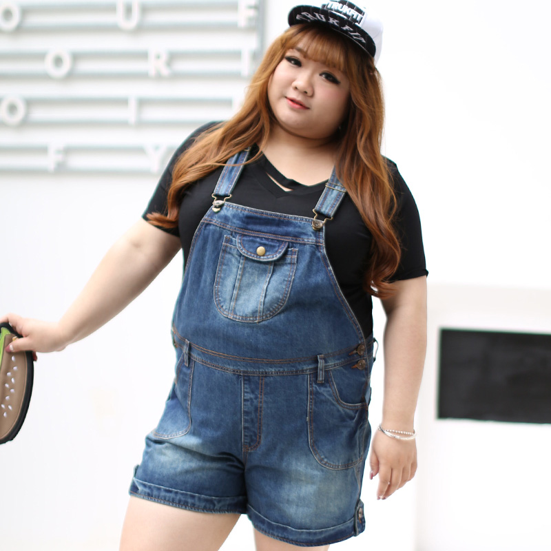 designer fashion uk store latest sale Plus Size Denim Jumper (Short Version)